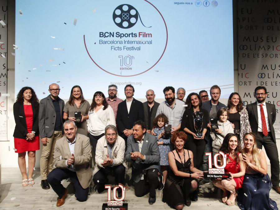 AMINE, Winner of the 10th edition of the BCN Sports Film 2019